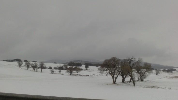 Nieve en Teruel, A-23