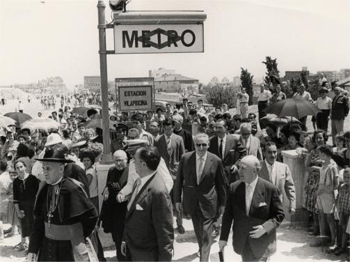 El Metro llega a Nous Barris (Barcelona)